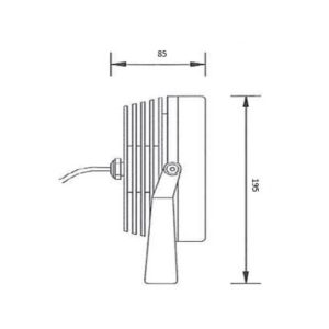 Eccelectro - Schema Projecteur AEC 18