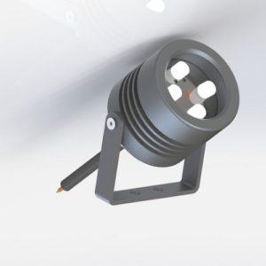 Projecteur AEC 4 power LED spot extérieur