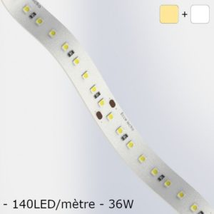 Led White Ribbon cold / hot soft Circuit