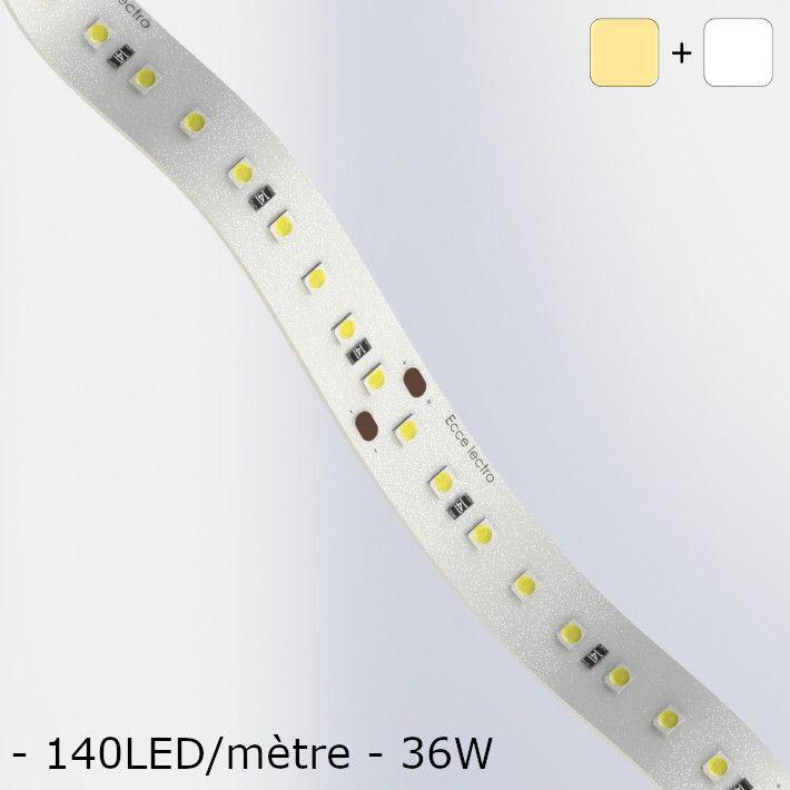 Led White Ribbon cold / hot soft Circuit
