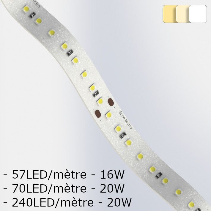 Ruband LED Puissant Blanc Bandeau LED Circuit souple