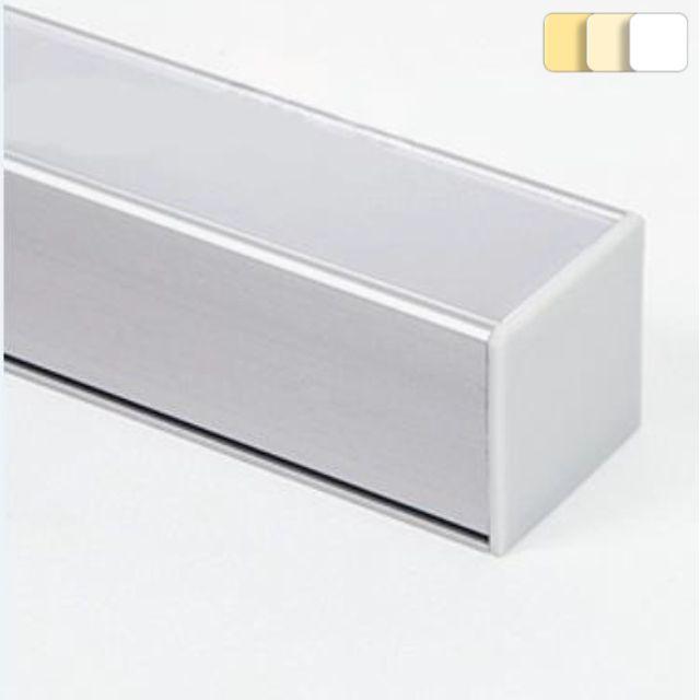 Réglettes LED Givré Blanc Configurables