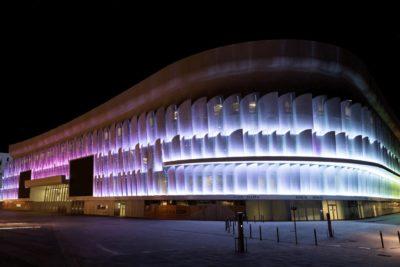 Eccelectro The Arena de Paris Illumination LED