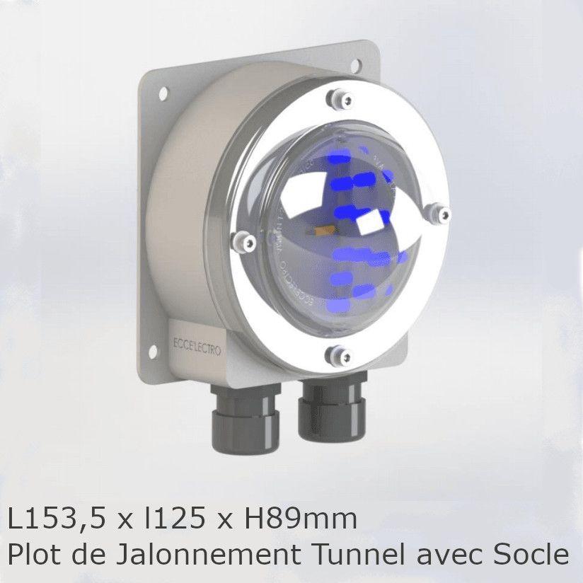 Plot de jalonnement avec Socle tunnel