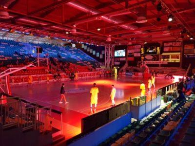 Éclairage LED Stade de Sport Tubulaires RVB