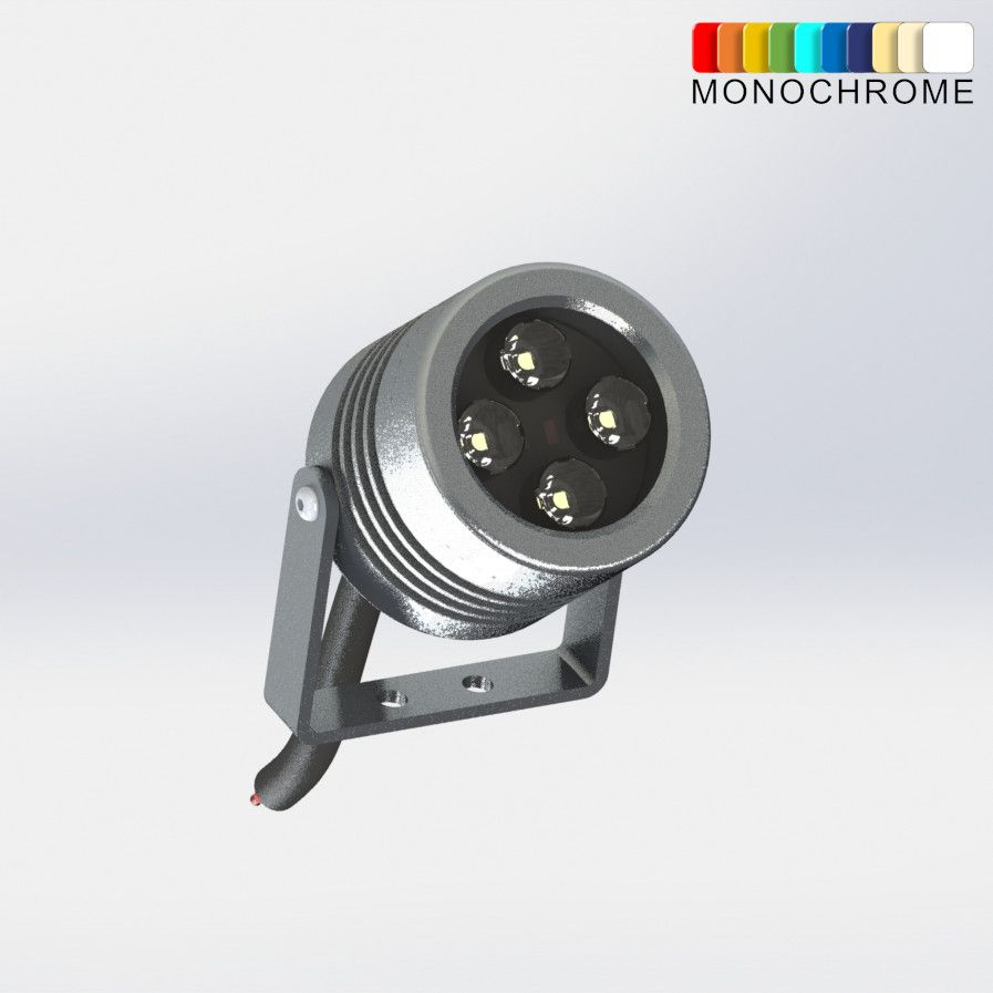 Architectural Projector LED Red Blue Green White