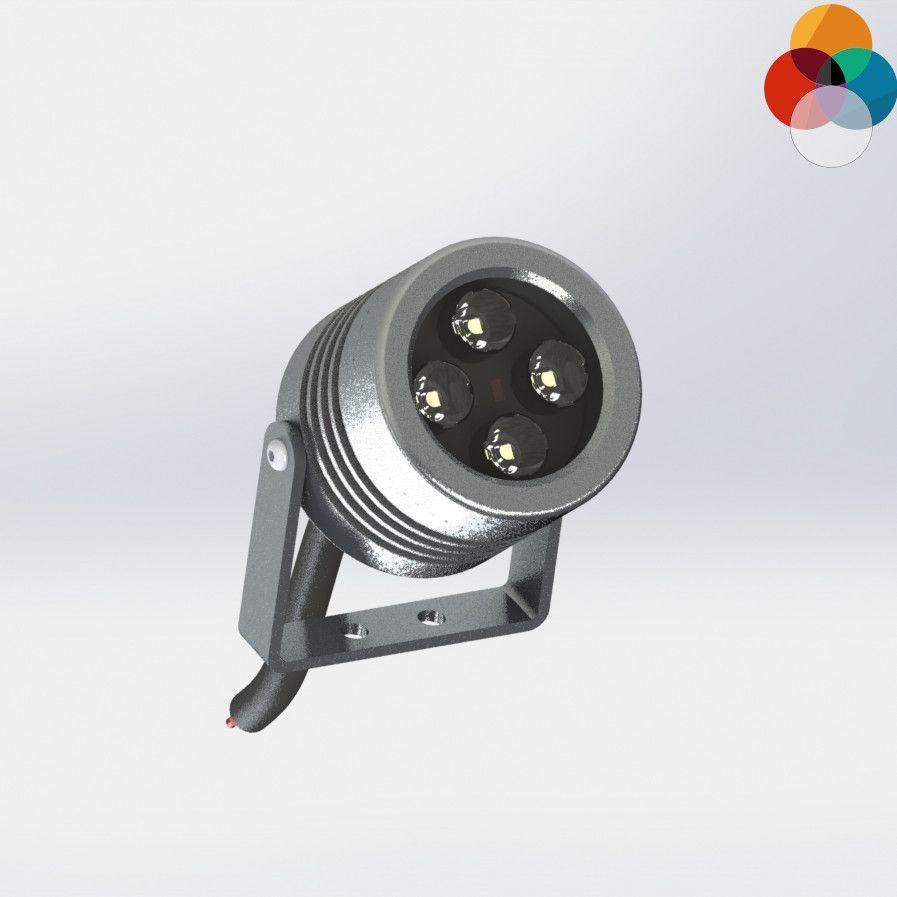 Projecteur Architectural LED RVBW