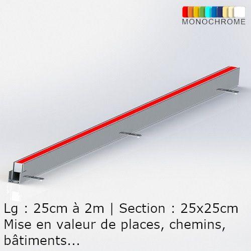 Linear Recessed LED floor Light line