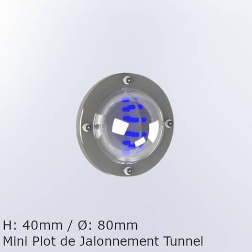 Luminaire sécurité tunnel